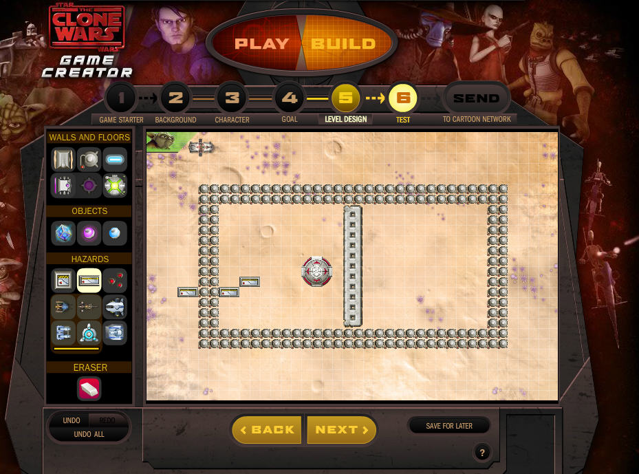Star Wars The Clone Game Creator Build And Play Your Own